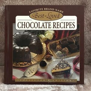 Best-Loved Chocolate Recipes Cookbook EUC